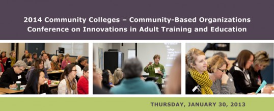 Mark Your Calendars: 2014 CC-CBO Conference – January 30th