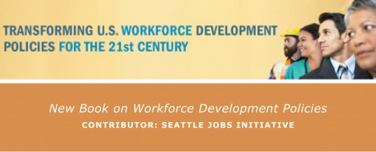 New Book on Workforce Development Policies